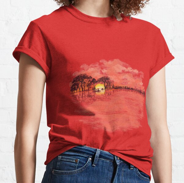 Musical Sunset Classic T-Shirt