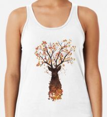 Fall into the Woods Racerback Tank Top