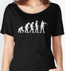Evolution of Gamers | Floss Dance  Women's Relaxed Fit T-Shirt