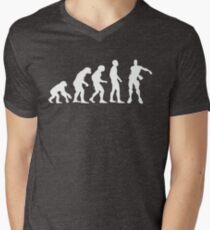 Evolution of Gamers | Floss Dance  Men's V-Neck T-Shirt