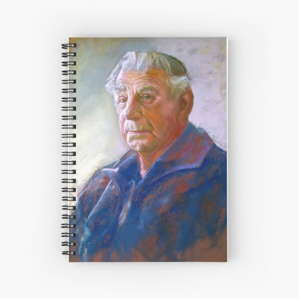 Portrait of Con Conning Spiral Notebook