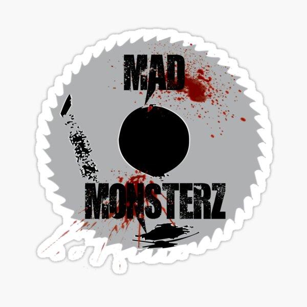 Mad Monsterz logo  Sticker