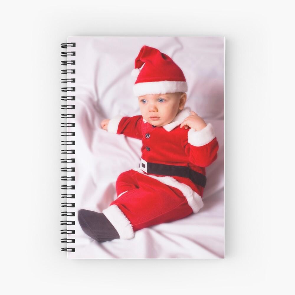 Santa's Little Helper Spiral Notebook