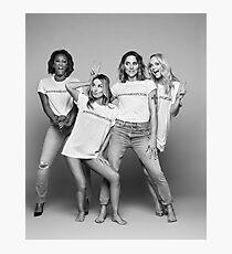 Spice Girls in #Iwannabeaspicegirl t-shirts for Spice World 2019 Photographic Print