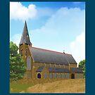 FLOWERY FIELD - St. Stephen's Church by CRP-C2M-SEM