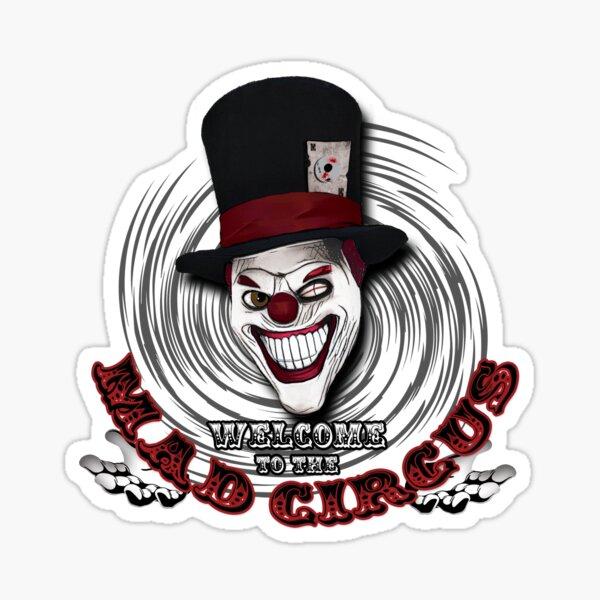 Mad Monsterz Clown logo Sticker