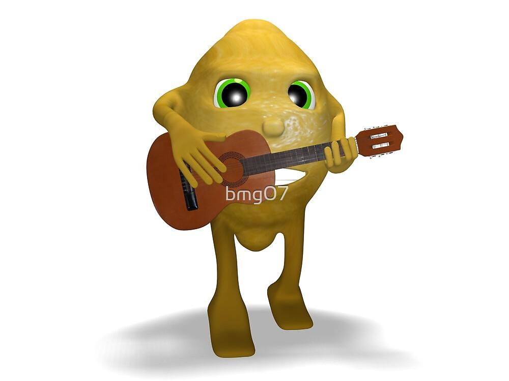 lemon guitar by bmg07