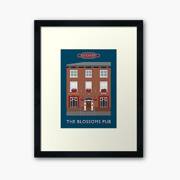 DAVENPORT - Blossoms Pub Framed Art Print