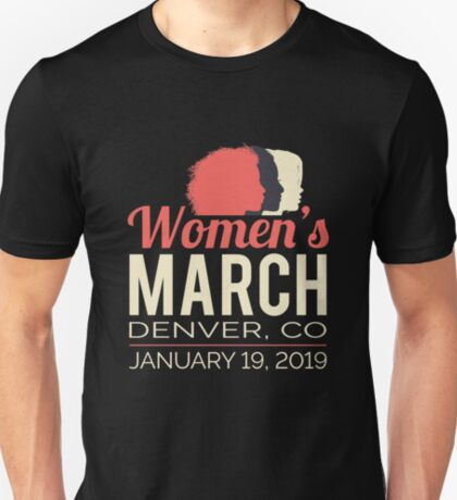 Women's March 2019 Denver Colorado T-Shirt