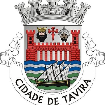 Coat of Arms of Tavira, Portugal by Tonbbo