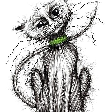 Mr Whiskers by KeithMillsArt