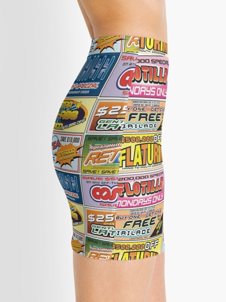 Alternate view of Idiocracy Flyer 2 Mini Skirt