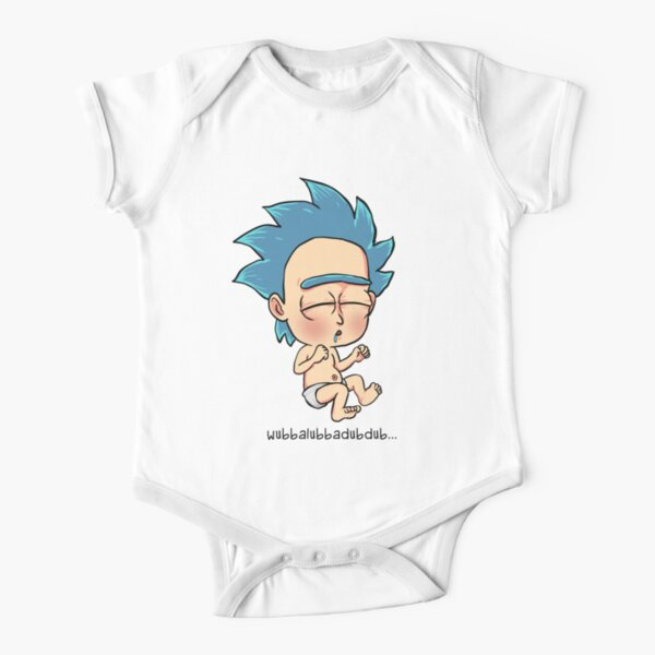 Baby Rick Short Sleeve Baby One-Piece