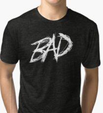 XXXTENTACION BAD Tri-blend T-Shirt