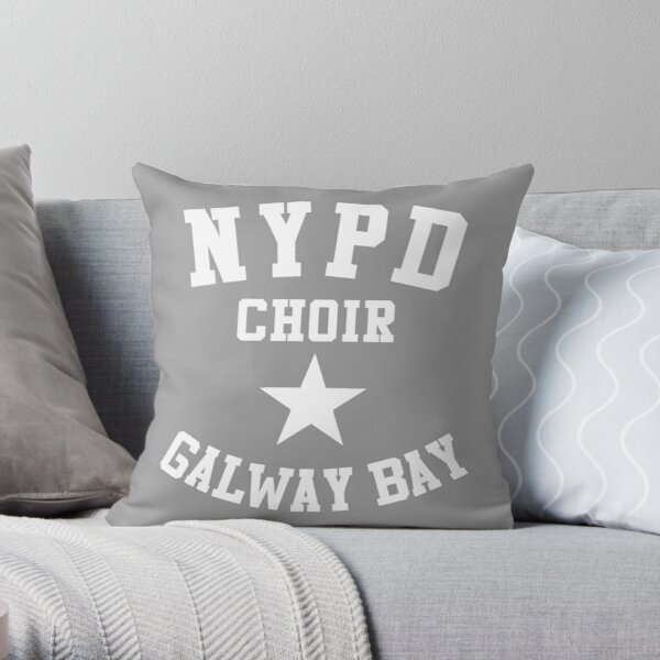 NYPD CHOIR GALWAY BAY Throw Pillow
