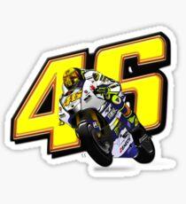 Valentino Rossi 46 Sticker