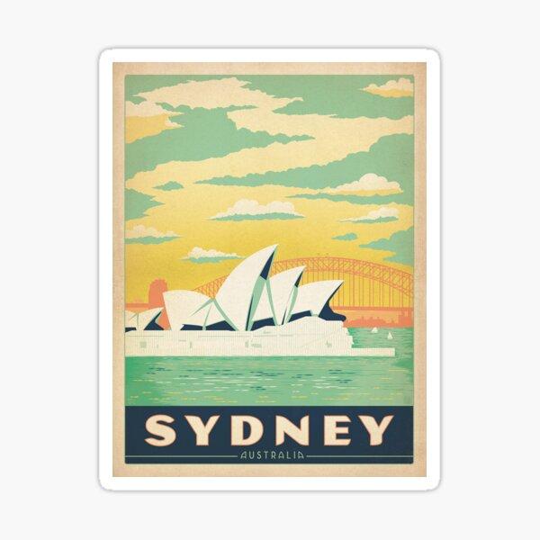Vintage poster - Sydney Sticker