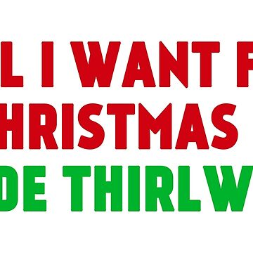 All I Want for Christmas is Jade Thirlwall by amandamedeiros