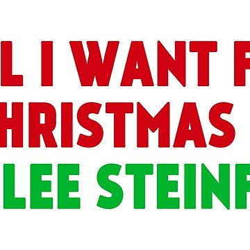All I Want for Christmas is Hailee Steinfeld by amandamedeiros