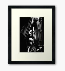 the thief Framed Print