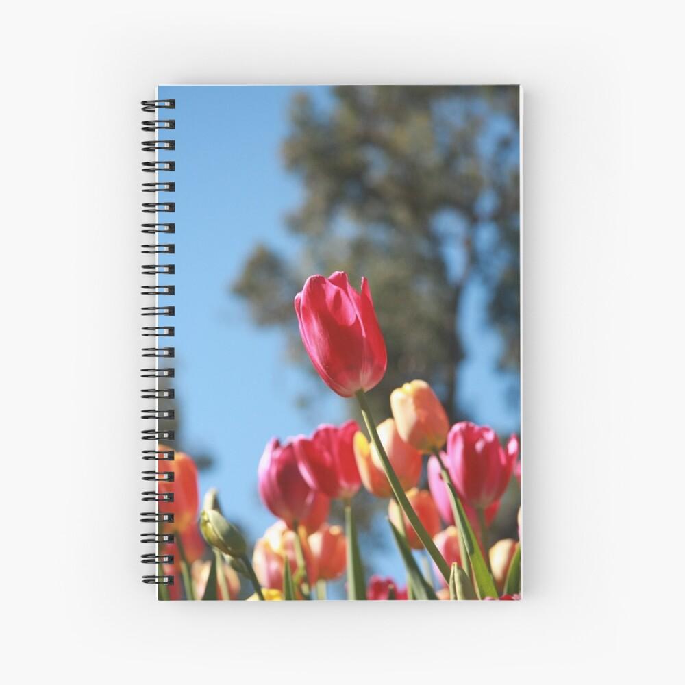 Tulips and Araluen Spiral Notebook