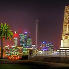 Perth WA At Night - HDR 4 by Colin  Williams Photography