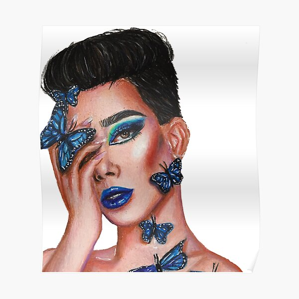 James Charles: Butterfly Poster