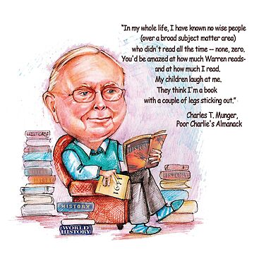 Charlie Munger by giovybus