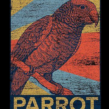 Parrot birdsong by GeschenkIdee