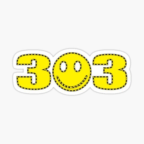 303 Smiley Sticker