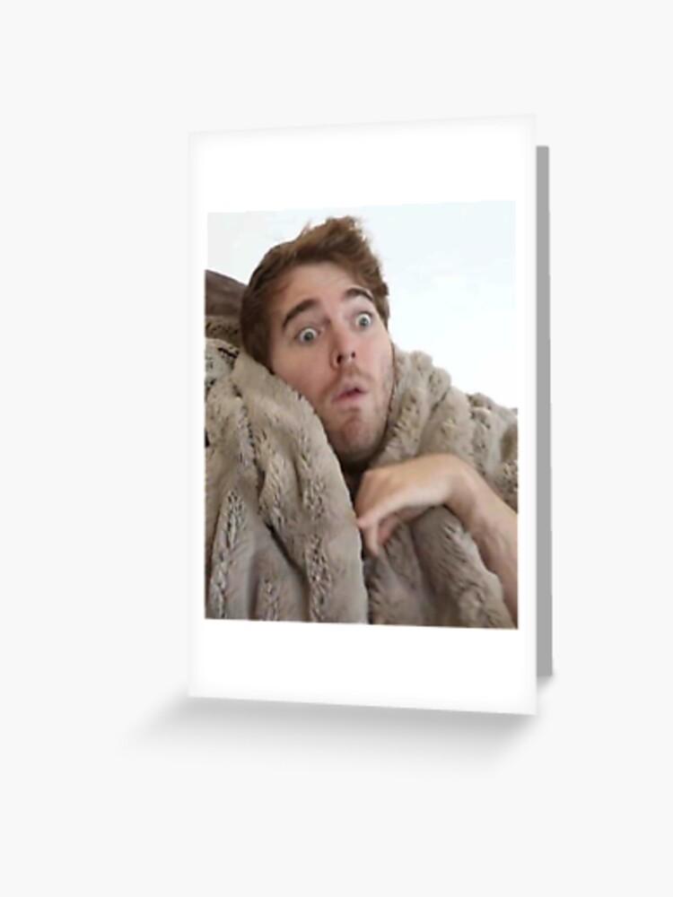 Flat Card Face Shane Dawson Celebrity Mask
