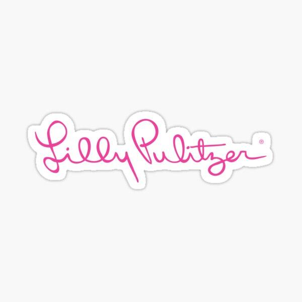 lilly pulitzer Sticker