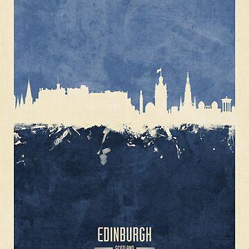 Edinburgh Scotland Skyline by ArtPrints