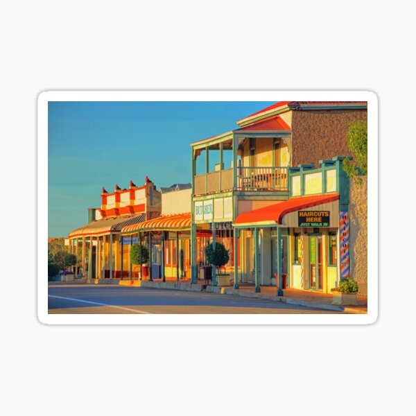 Northampton - Hampton Street -  Western Australia  Sticker