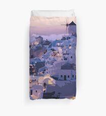 Oia - Greece  Duvet Cover