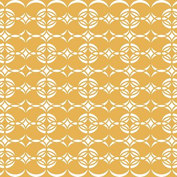 Abstract pattern - bronze  and white. by kerens