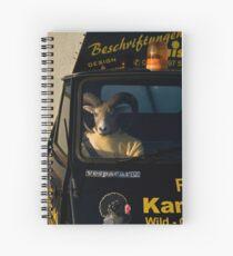 passenger Spiral Notebook