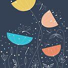 Mitternachtsromanze von OkopipiDesign