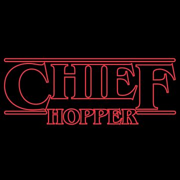 Chief Hopper Best Chief by gastaocared
