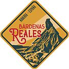 Bardenas Reales Desert 04 - Navarre Spain, T-Shirt + Sticker by ROADTROOPER