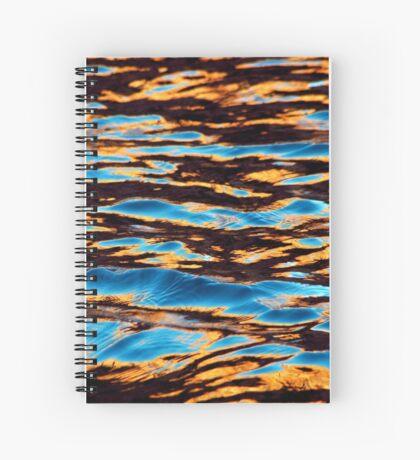 Golden Hue Spiral Notebook