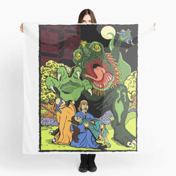 Monster in the Garden of Sorrow Scarf