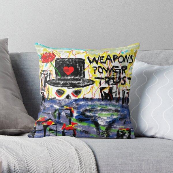 MC ZULU Dogs of War - Conceptual Artwork Throw Pillow