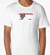 Austrian Goggles White Frame Distressed | Goggle Designs | DopeyArt Long T-Shirt