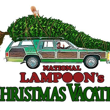 National Lampoon's - Clark Griswold Christmas Tree by Purakushi
