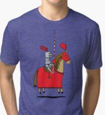 Jumpy Knight Tri-blend T-Shirt