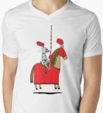Jumpy Knight Men's V-Neck T-Shirt