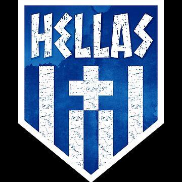 Hellas Greece Logo by IchliebeT-Shirt