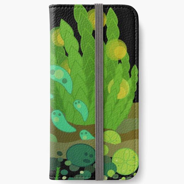 Fantastic Moss World iPhone Wallet