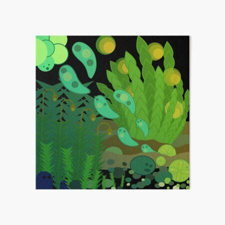 Fantastic Moss World Art Board Print